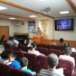Preaching at Otawara Christ Church